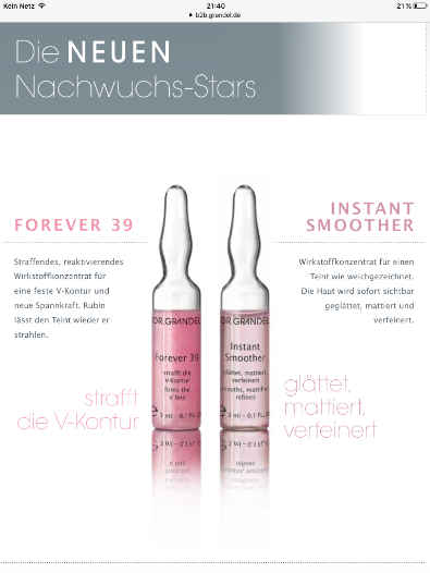 Forever 39 und Instant Smoother